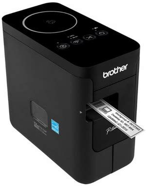 Brother PTP750W PC Connectable Label Maker Wireless from
