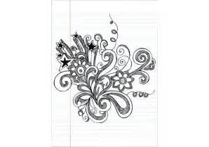 doodle flower vector illustration notebook doodle flower vector illustration