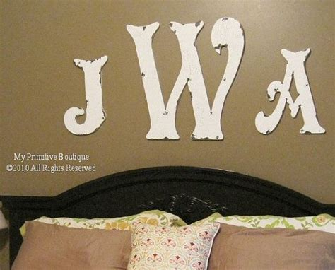25  best ideas about Monogram Above Bed on Pinterest