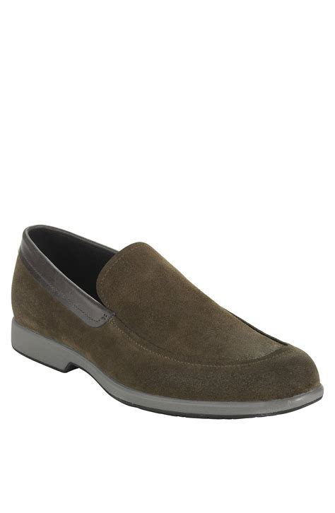 venetian loafer cole haan toledo suede venetian loafer in gray for