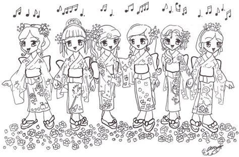 coloring pages of chibi disney princesses chibi japan disney princesses by vulpixfairy on deviantart