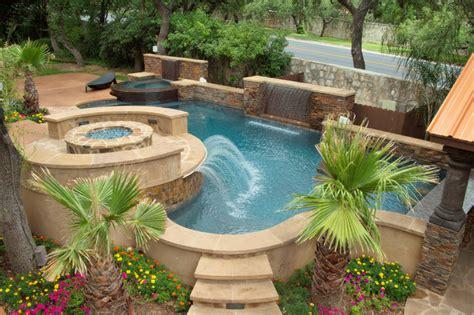 luxury backyards luxury backyards traditional pool by