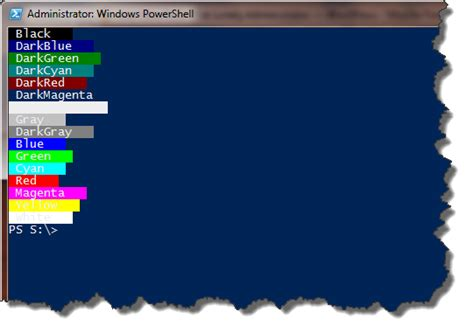 powershell colors friday color my world the lonely administrator