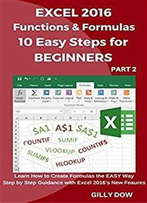 access 2016 in easy steps books excel 2016 functions formulas 10 easy steps for
