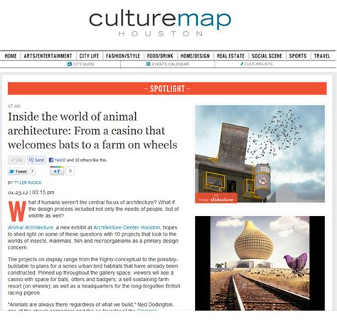 inside the world of animal architecture the expanded environment