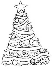 christmas tree coloring pages coloring pages to print