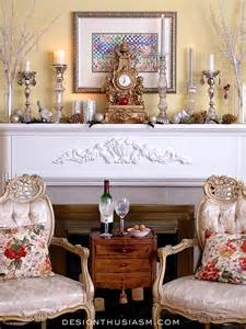 how to decorate a holiday mantel