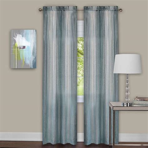 curtain panel pairs achim sombre mist window curtain panel pair 40 in w x