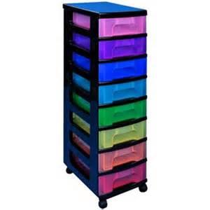 tiroirs de rangement plastique transparent color 233 s 8