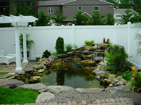 Landscape Design Ideas For Backyard Beautiful Garden Pond Ideas Orchidlagoon