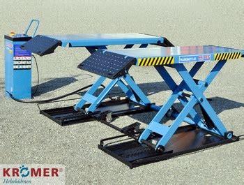 carrozziere economico roma kroemer midrise scissor car lift 3 0t khg2013a 1 ce