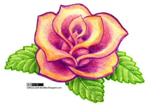 simple rose tattoo design tattoos and doodles simple rose