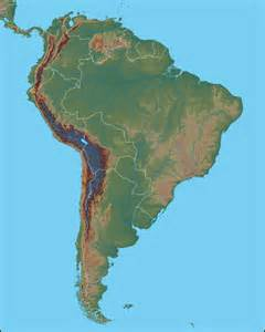 and south america physical map physical map of south america south america political