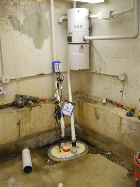 leader basement systems basement waterproofing photo