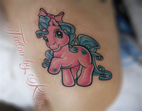my little pony tattoos my pony best design ideas