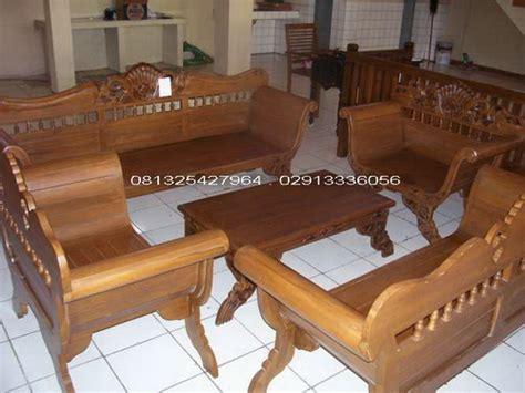 Kursi Tamu Jati Madura kursi tamu madura ukiran kerang kayu jati jepara kursi
