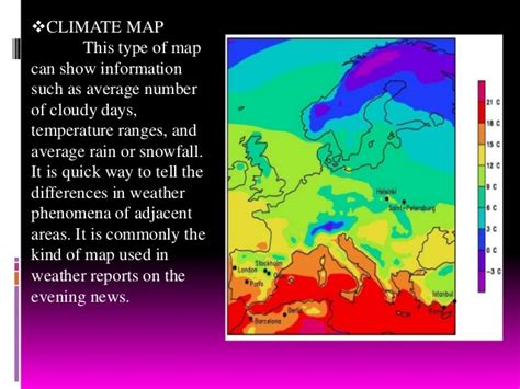 kinds of maps types of maps and other interpretation