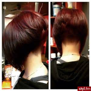 pictures of stacked haircuts back and front 1000 images about short bob cuts on pinterest aline bob stacked bobs and shaved nape
