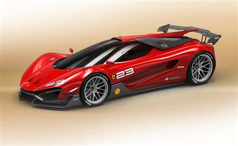 Ferrari Concept by Apple Mac Wallpapers Hd