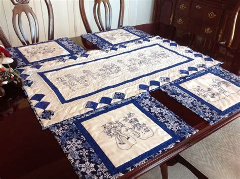 snowman table runner and placemats 71 best huggable quilts images on bedspreads