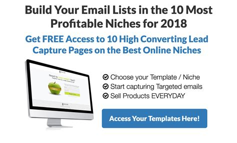 free lead capture page templates 10 high converting lead capture templates on the best