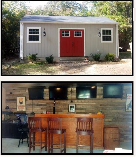 backyard man cave plans backyard man cave shed build pinterest caves