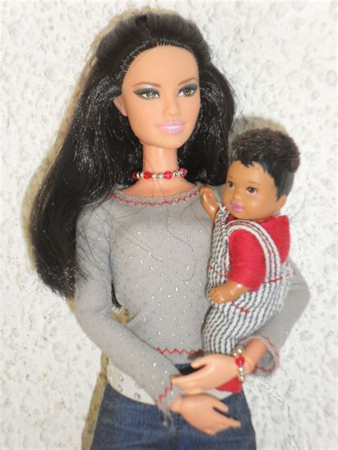 black doll family happy family toddler doll with fashionistas black