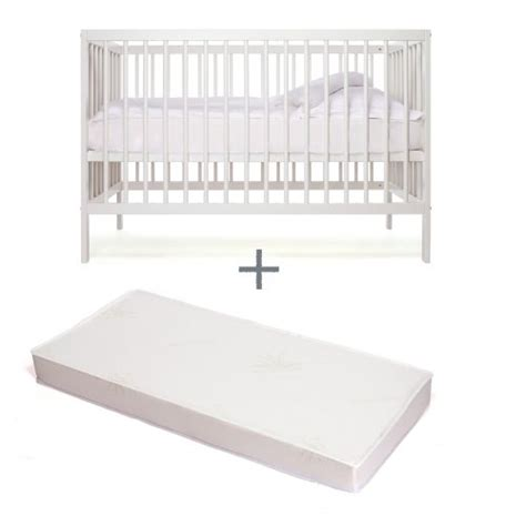 Cots With Mattress Included by Mokee Mini Eco Friendly 120 X 60 Cm Baby Space Saver Cot