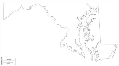 blank us map geography geography maryland outline maps