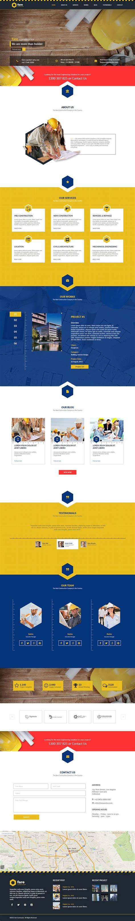 themeforest construction template as 25 melhores ideias de construction website no pinterest