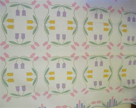 pattern webster may tulips applique quilt marie webster pattern cindy
