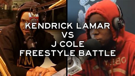 kendrick lamar vs j cole kendrick lamar vs j cole the freestyle battle hd