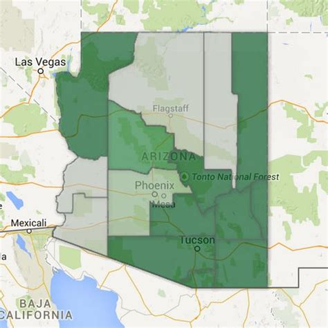 Arizona Marriage Records Familysearch Coverage Map