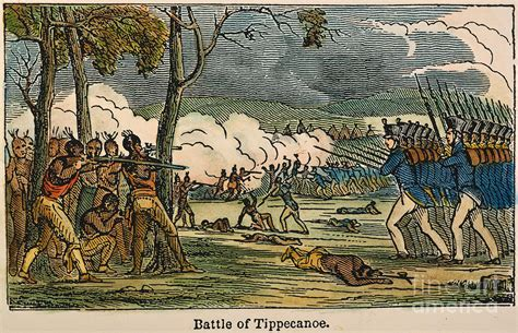 Wall Decor Home by Battle Of Tippecanoe 1811 Photograph By Granger