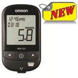 Alat Tes Gula Darah Omron jual alat cek gula darah omron tipe hea 221 harga murah
