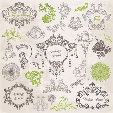 lace pattern ai free classic lace pattern 02 vector free vector in adobe