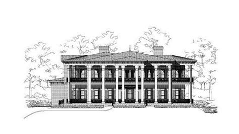 Colonial Luxury House Plans | colonial homes luxury colonial house plan colonial luxury