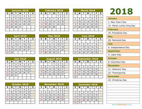 2018 excel calendar template expin franklinfire co
