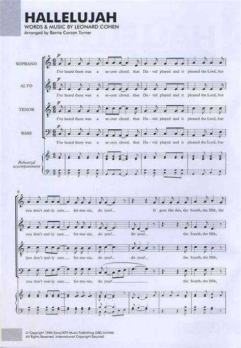 testo canzone alleluia spartiti hallelujah elisa fare di una mosca