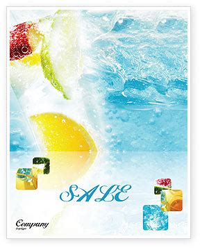 Eel Drink Summer Sale by Soft Drink Sale Poster Template In Microsoft Word