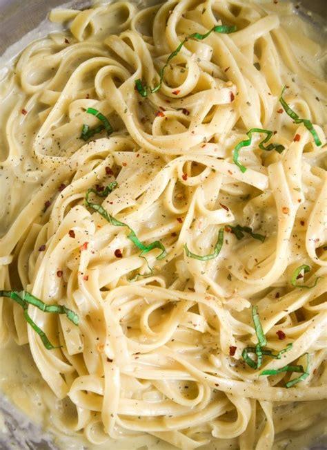best vegetarian pasta recipes one pot garlic pasta vegan fettucine alfredo