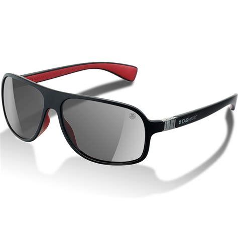tag heuer legend sunglasses black grey at
