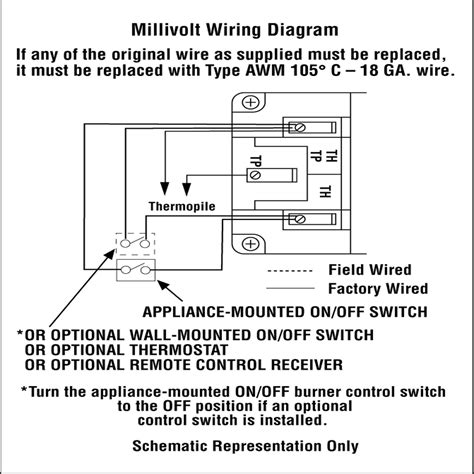 wiring diagram for c gas fireplace wiring diagram for