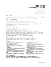 Education Resume Objective by All Resumes Todd Hulet