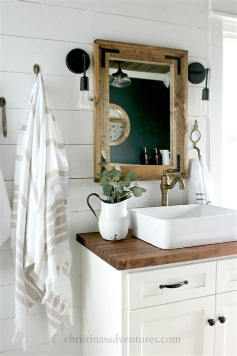 farmhouse style bathroom sink best 25 farmhouse bathroom sink ideas on