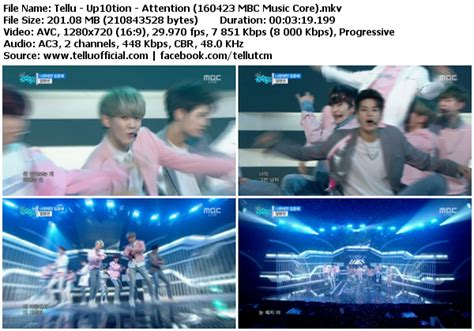 download mp3 up10tion attention download perf up10tion attention mbc music core 160423
