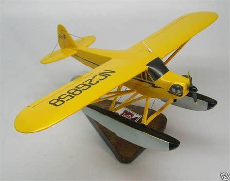 Flamingo Bomber J3 01 j 3 piper cub float plane j3 airplane desktop kiln wood model big large ebay