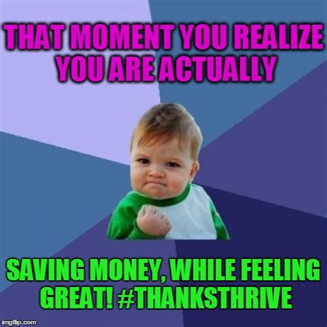 Saving Money Meme - success kid meme imgflip