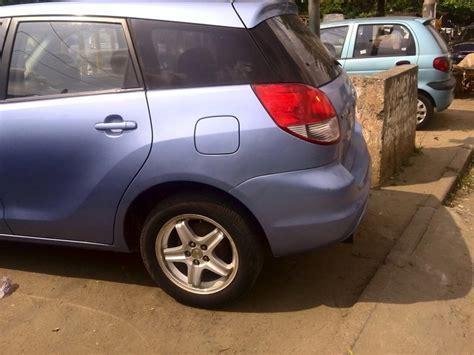 toyota matrix 2003 price in nigeria toks toyota matrix 2003 at a giveaway price autos nigeria