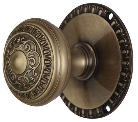Door Knob Rosette by Romanesque Door Knob With Egg Dart Rosette Antique
